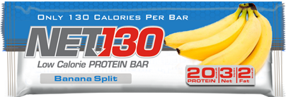 Banana Split NET Protein Bar