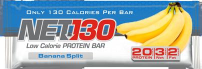 Banana Split NET Protein Bar